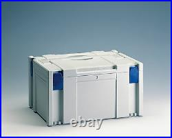 TANOS Systainer Classic SYS 3 licht grau koppelbar mit FESTOOL Mafell BTI T- Loc
