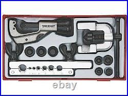 Teng TTTF10 Pipe Flaring Tool Set Kit In Toolbox Module Tray