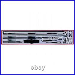 Teng TTXEXT13 Extension Bar & Accessories Set in Tool Box Module Tray