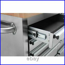 Thor 72 15 Drawers Tool Chest Mobile Kitchen Workbench Storage Box Work Bench