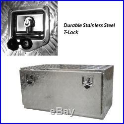 Tool Box Aluminium Tool Storage Large w Lock UTE Trailer Truck Heavy Duty Vehicl