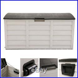 Tool Box Outdoor Garden Shed Storage Patio Garage Backyard Deck Cabinet