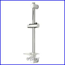 Triton Aspirante 9.5KW Brushed Steel Electric Shower Includes Head + Riser