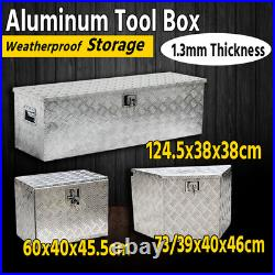 Truck Bed Tool Box 24 Storage for Truck Pickup Bed Trailer Tongue WithLock US