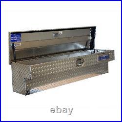Truck Storage Tool Box 48 Side Mount Bed Aluminum Auto Lift Case Bin Toolsbox
