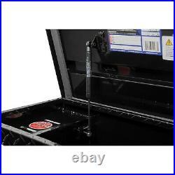 Truck Tool Box Low Profile Design Storage Organizer Diamond Plate Aluminum Black