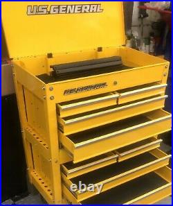 US GENERAL 8 Drawer Custom Tool Cart