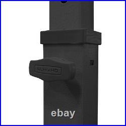 Ultrahd Adjustable Height Workbench, 48 L X 24 W, Satin Graphite