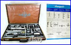 Vintage NOS CAMPAGNOLO 3380 MASTER TOOL BOX CASE, w manuals poster complete mint