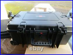 Wheeled Rolling Travel Equipment Tool Box Flight Case with Foam H7FC 9212754