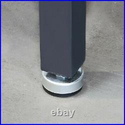 Work Bench Steel Frame Workbench Top 4' Hardwood Table Top 800 lb Capacity